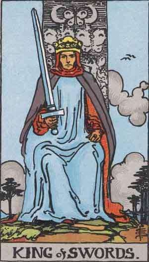 King of Swords Tarot card